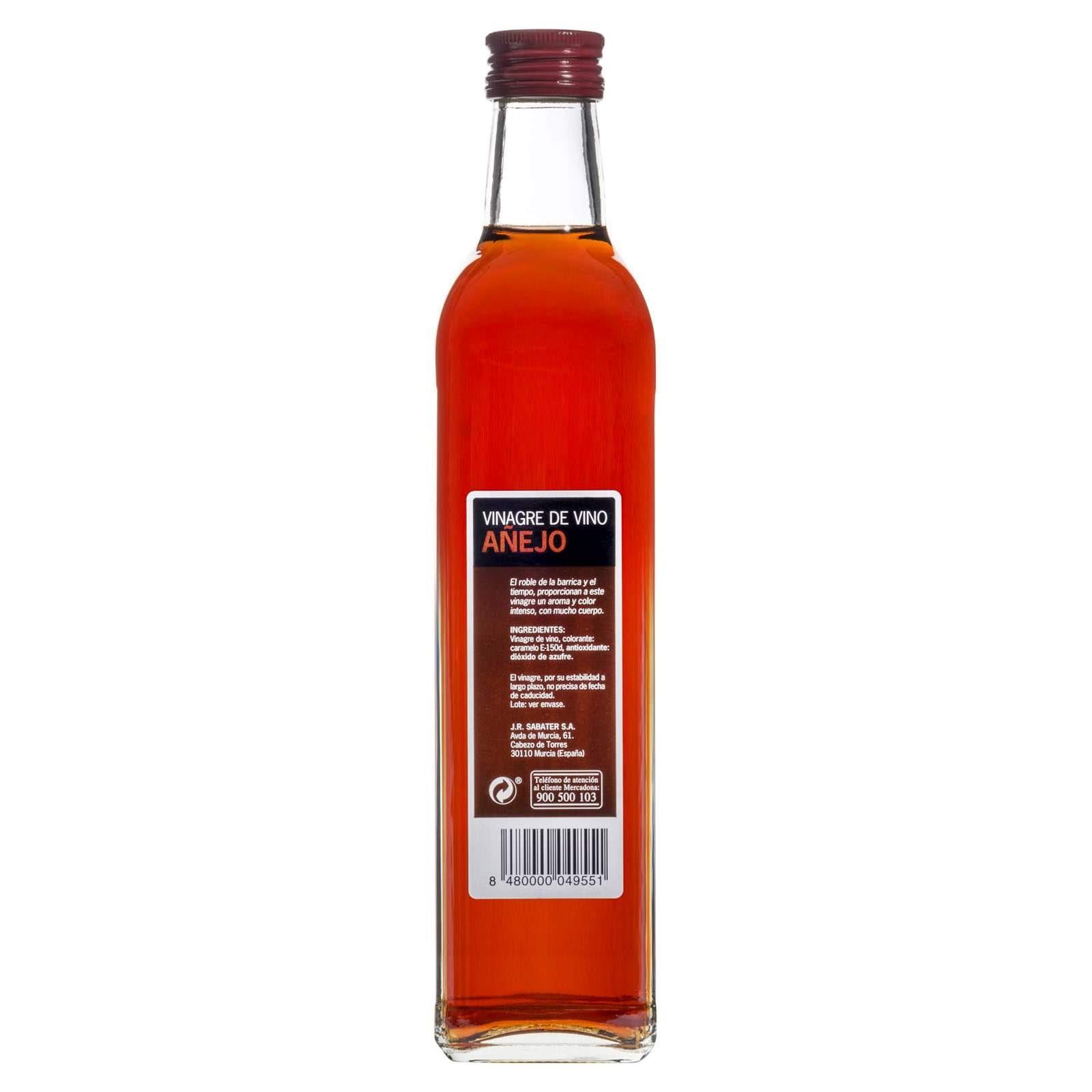 Vinagre de vino añejo Hacendado