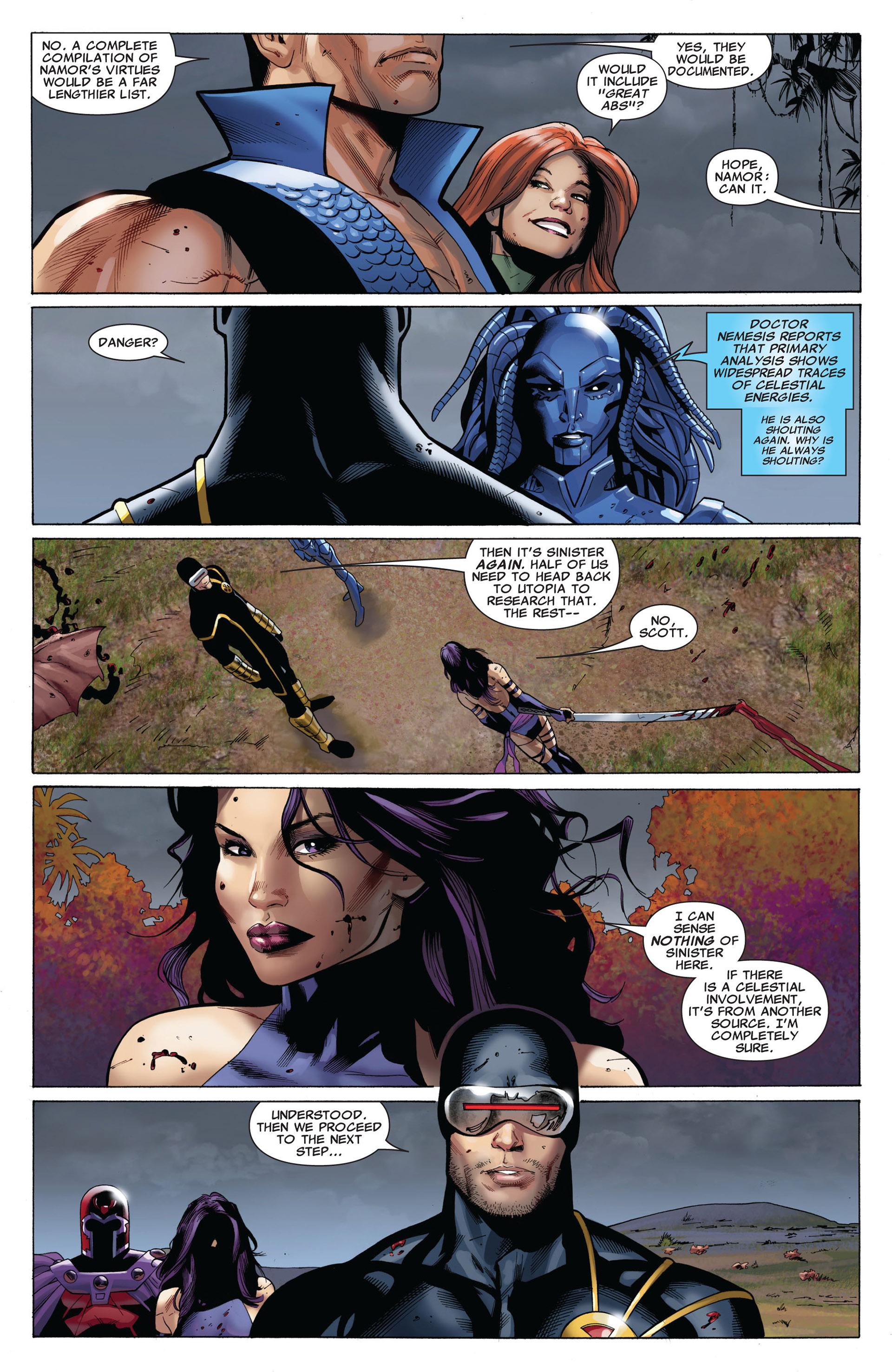 Read online Uncanny X-Men (2012) comic -  Issue #5 - 11