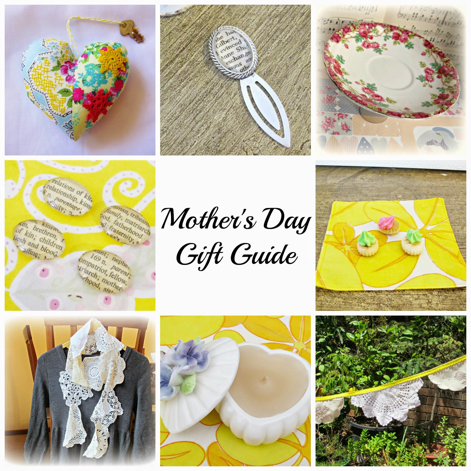 image domum vindemia mother's day gift guide shabby chic vintage-inspired upcycled scarves home decor buntings napkins