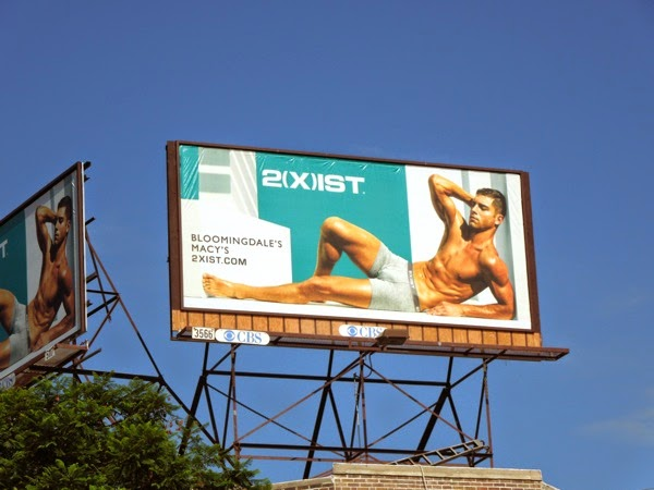 Andre Ziehe 2Xist trunks underwear billboard