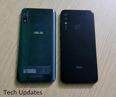 Asus Zenfone Max Pro M2 vs Xiaomi Redmi Note 7