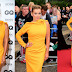 HD Pics: Katherine Jenkins in yellow dress At GQ Men Of The Year Awards 2018 in London