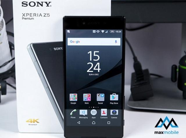 Mua Sony Z5 Nhật chính hãng mới fullbox tại MaxMobile