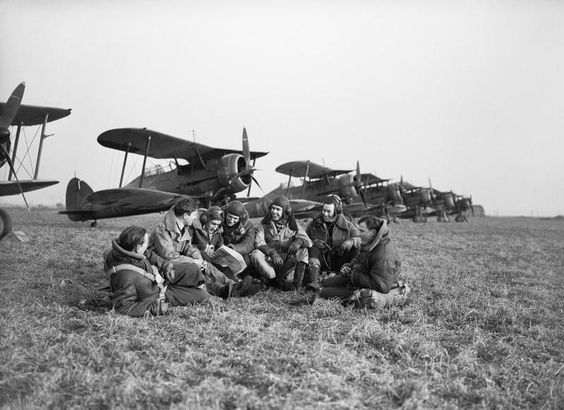 13 December 1939 worldwartwo.filminspector.com Gloster biplane