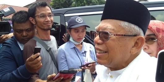 Tanggapi Salat Saf Campur di Kampanye Prabowo, Ma'ruf: Masjidil Haram Itu Pengecualian