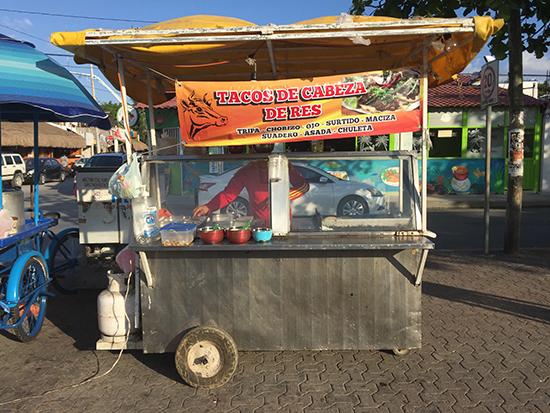 Tacos de Cabeza de Res