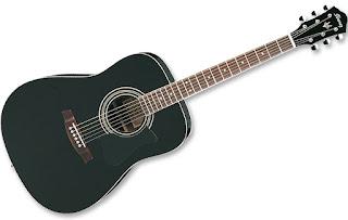 Đàn Guitar Ibanez V72E BK