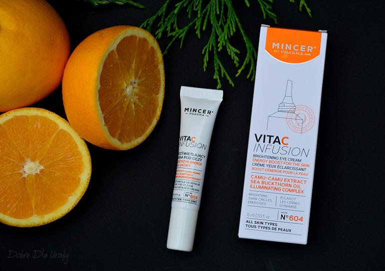 Mincer Pharma VITA-C-INFUSION Rozświetlający krem pod oczy ( Receptura № 604 )