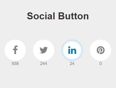 Nút chia sẻ mạng xã hội hiệu ứng tooltip đẹp