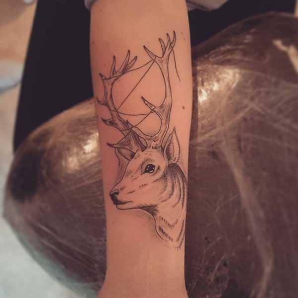 geyik dövmesi ve anlamları