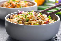 Egg Roll in a Bowl #dinnerrecipe #food