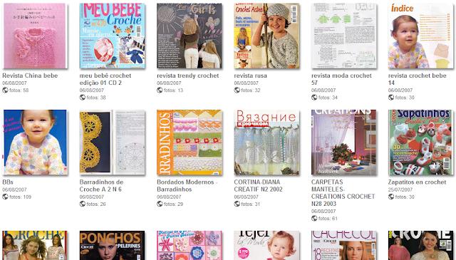 72 Revistas de Crochet. Recopilacion Picasa
