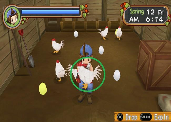 Cara Cepat Memiliki Ayam di Harvest Moon Hero of Leaf Valley