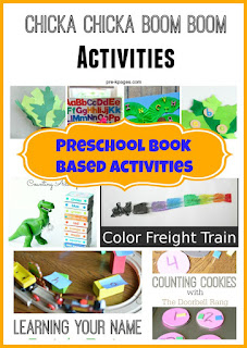 Preschool Book Based Activities from Mom's Library