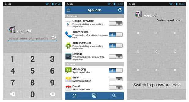 6 mejores aplicaciones de seguridad para Android app lock