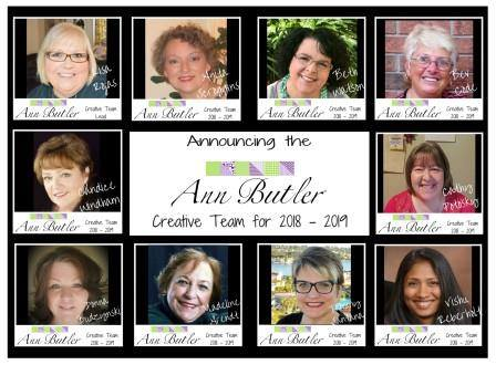 Ann Butler Designs 2019 Design Team