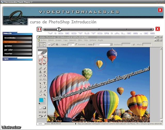Curso de Photoshop, con videos en Flash [Sencillo de seguir][Rapidgator/Deposit Files]