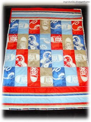 стеганое одеяло детское