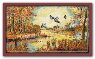"""Download embroidery scheme Rogoblen 6.51 """"Autumn Day"""""""