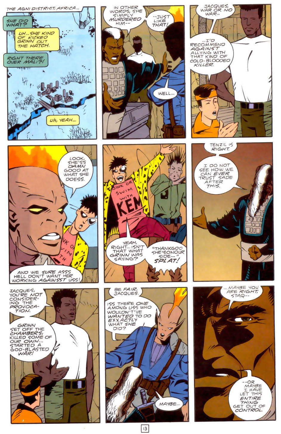 Legion of Super-Heroes (1989) 34 Page 13