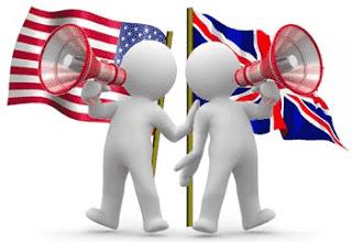 Diferenças de Vocabulário entre o Inglês Britânico e Americano