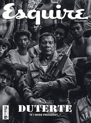 Duterte on Esquire Magazine