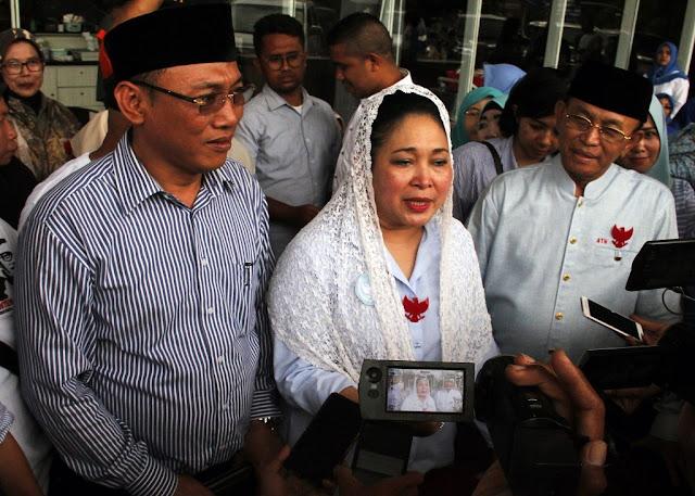 Titiek Soeharto: 22 Mei Kami Aksi Damai, tapi Kalau Ditembaki Gas Air Mata Rakyat Yang Akan Bicara Sendiri