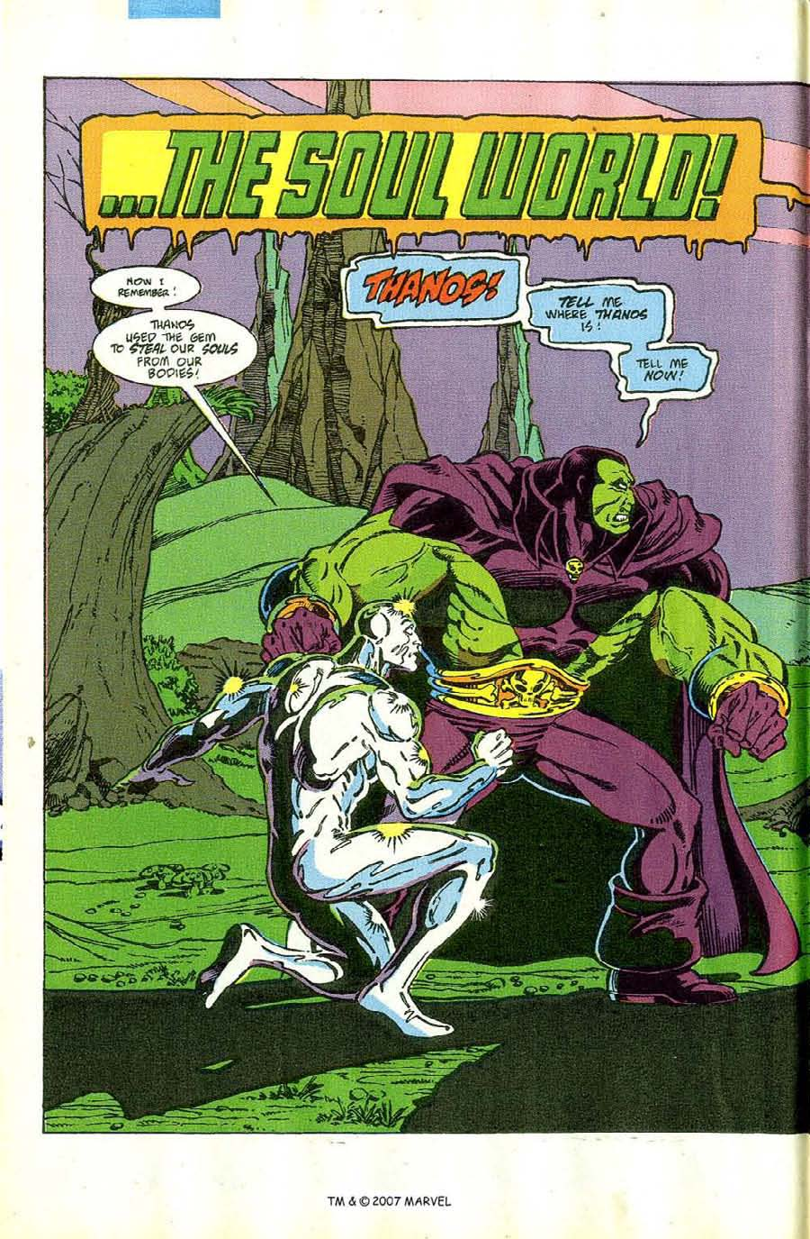 Read online Silver Surfer (1987) comic -  Issue #46 - 4