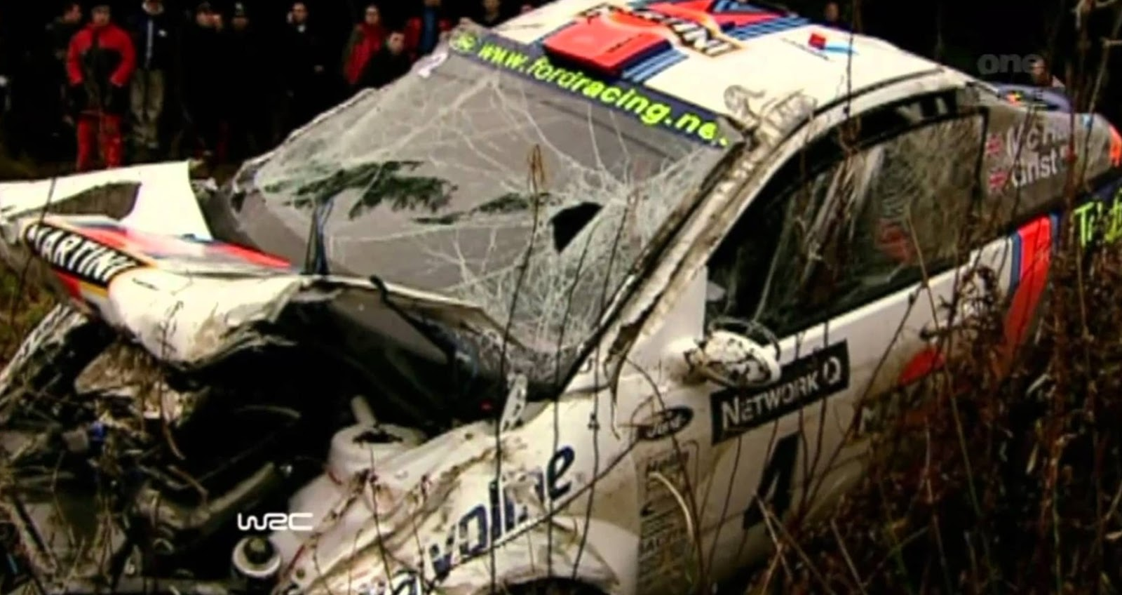 How much it cost if rally car gets damage in 2017