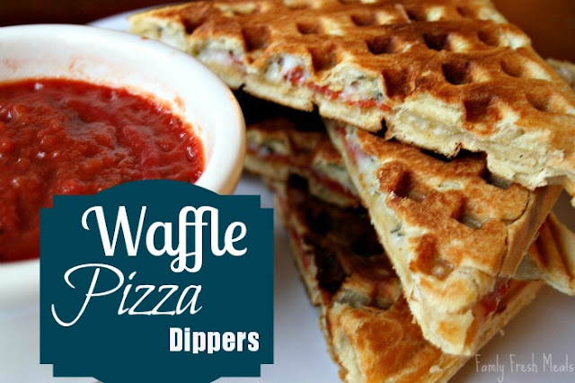 Waffle Pizza Dippers