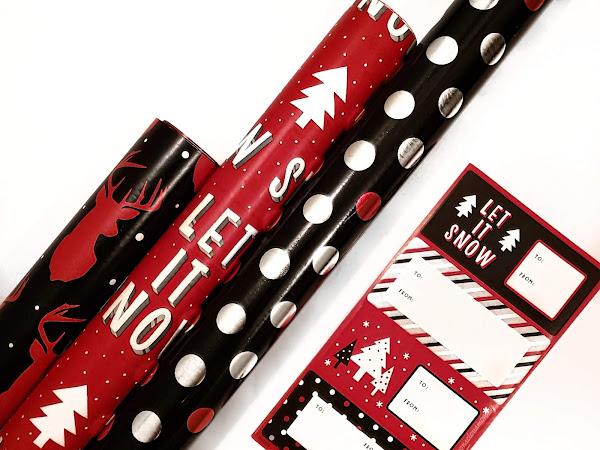 American Greetings Gift Wrap Ensemble