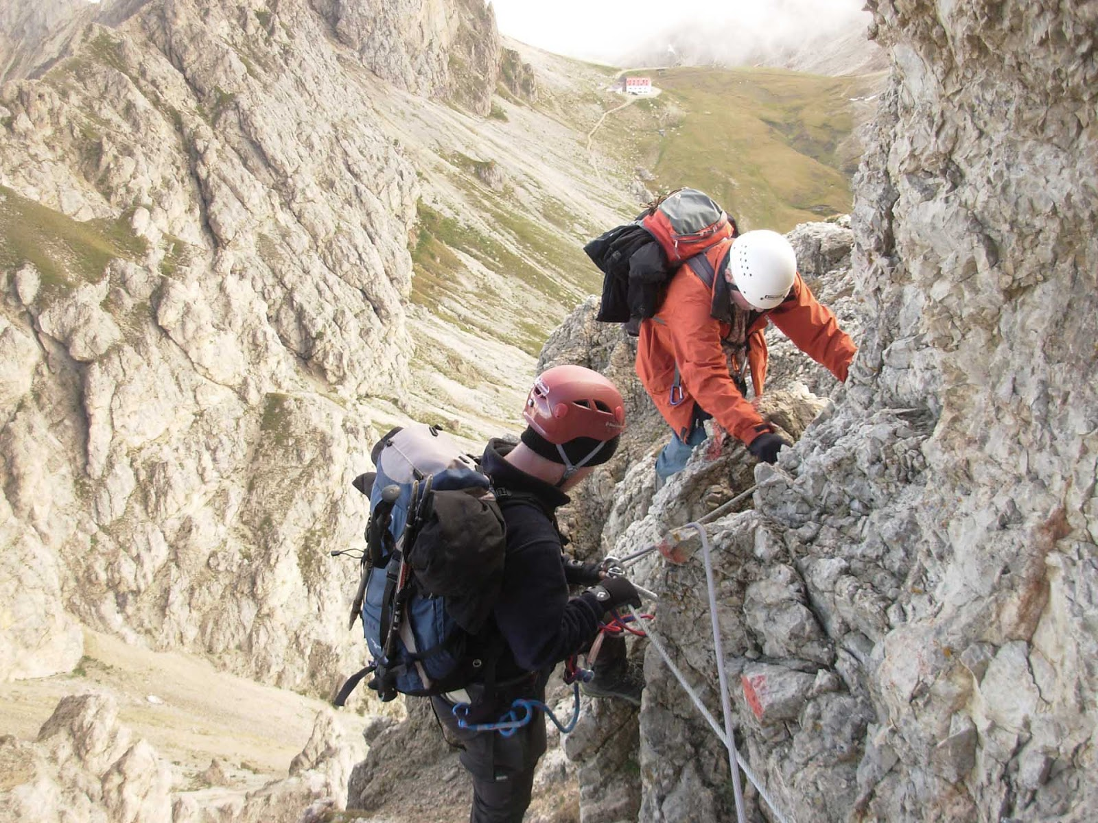Maximilian Klettersteig : Walter obergolser klettersteig impressionen