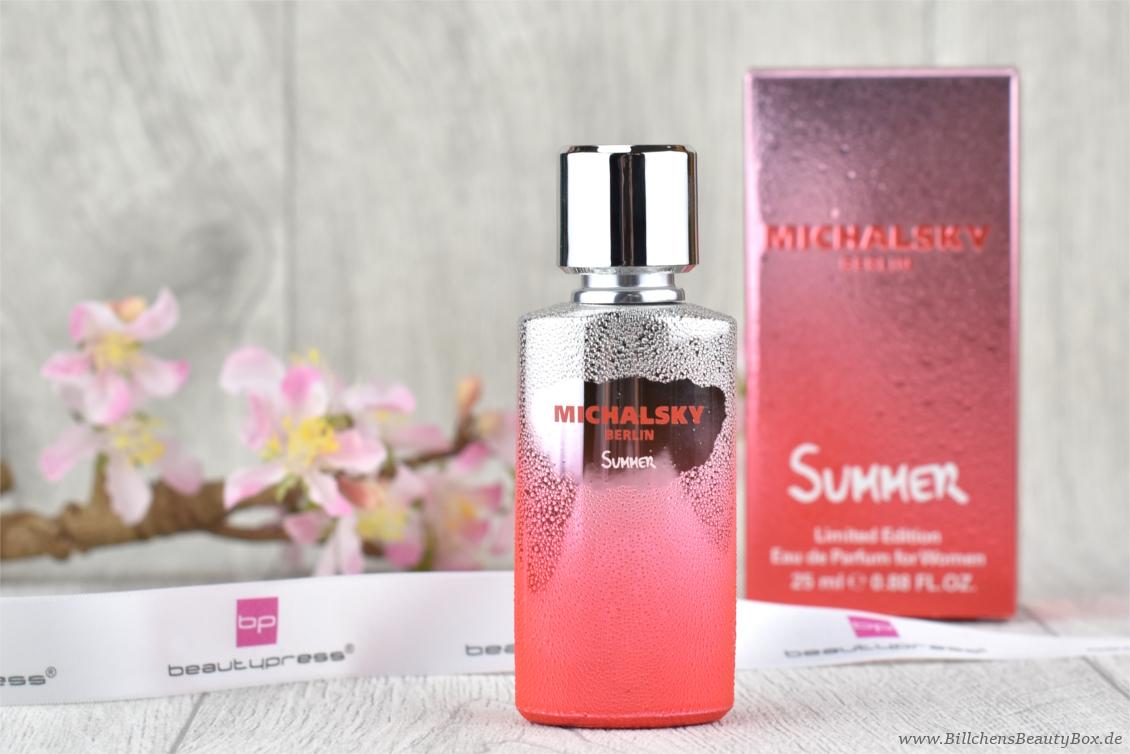 beautypress News Box - MICHALSKY BERLIN - Summer Women Eau de Parfum