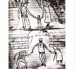 roda anak anak dan orang tua kehidupan terus berputar