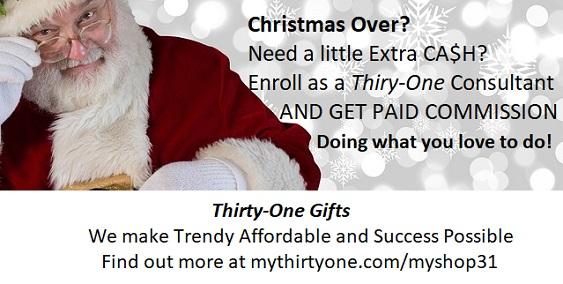 Christmas over? Need Cash?