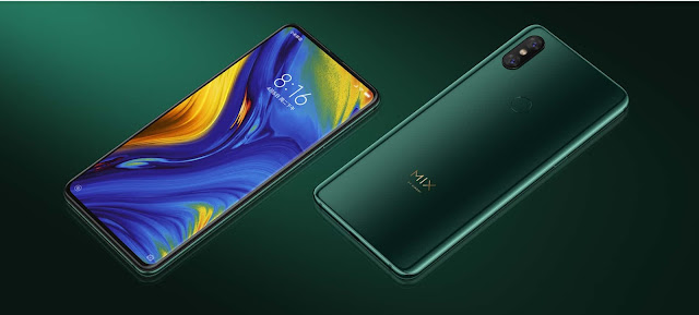 Xiaomi Mi Mix 3 Specification, launched date and Price