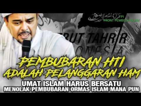 Habib Rizieq: Pembubaran HTI Pelanggaran HAM: Sekjen FPI: Persetan dengan HAM