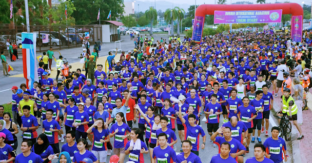 borneo international marathon