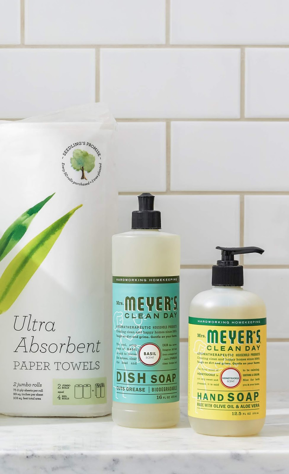 #grovepartner 5 Green Home Essentials for #springcleaning #MrsMeyers