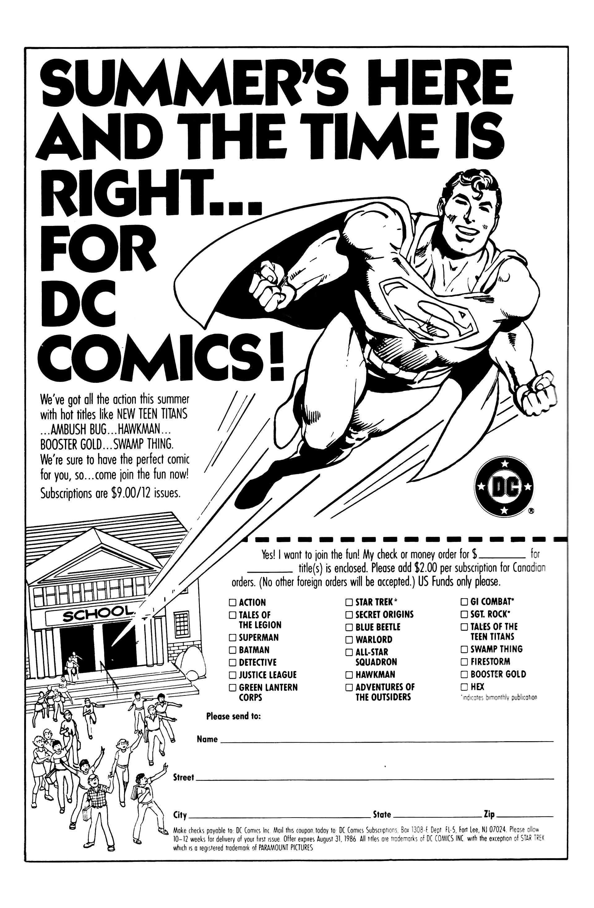 Read online Secret Origins (1986) comic -  Issue #7 - 2