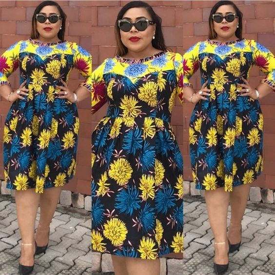 Cutie Ankara Short Gowns Styles 2018 for Beautiful Ladies to Rock ...