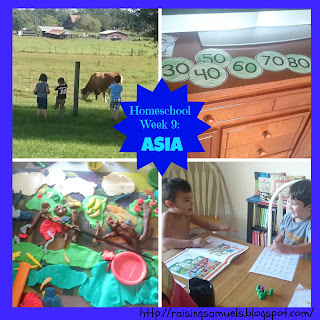 Homeschool Week 9: Asia