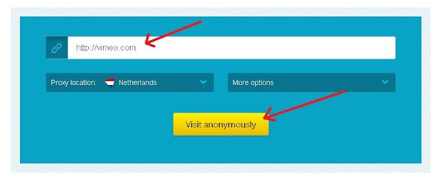 Cara Membuka Situs yang Diblokir di Android dengan Situs proxy