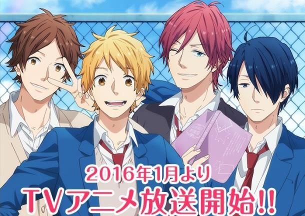 Anime Romance Comedy Terbaik Nijiiro days