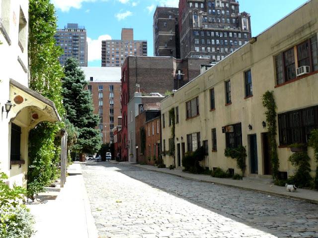 Callejon victoriano en Nueva York