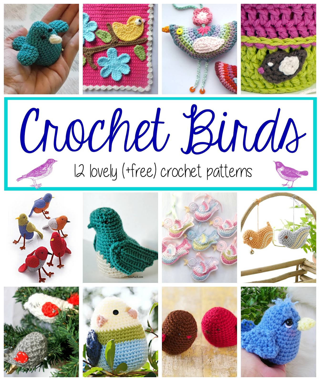 Baby Knitting Patterns Bird – Free Crochet Pattern – Crochet Love ... | 1600x1342