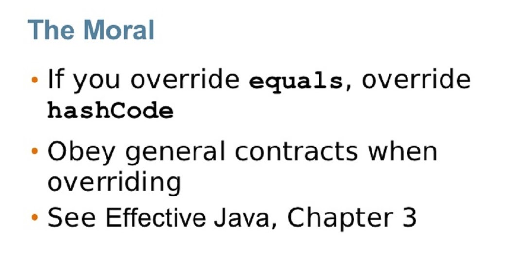 Overriding equals() and hashCode() method in Java and Hibernate