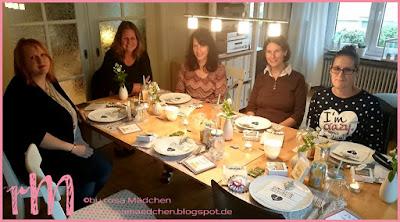 Stampin' Up! rosa Mädchen Kulmbach: Teamtreffen in Coburg Gruppenfoto