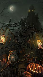 halloween phone background