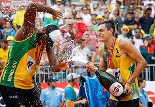 VOLEY PLAYA - Mundial masculino 2017 (Vienna, Austria): Evandro y André mantienen el legado brasileño en la cita mundialista